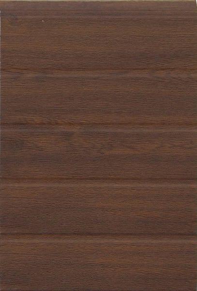 Dió keskeny bordás mintázat, faerezett felület, DITEC garázskapu panel