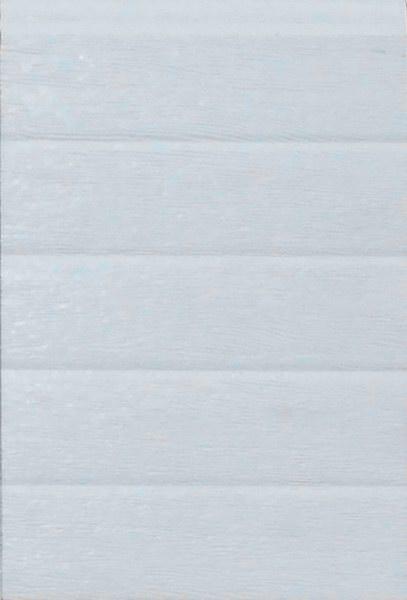 Fehér keskeny bordás mintázat, faerezett felület, DITEC garázskapu panel