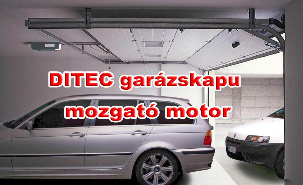 DITEC GLOBE garázskapu mozgató motor - Biztonság, kényelem, egyszerű használat, megbízható működés, hosszú élettartam, minőség iránti elkötelezettség.